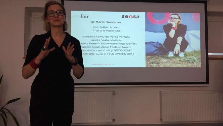 Warsztaty o zrównoważonej modzie podczas pierwszego polskiego Circular Week
